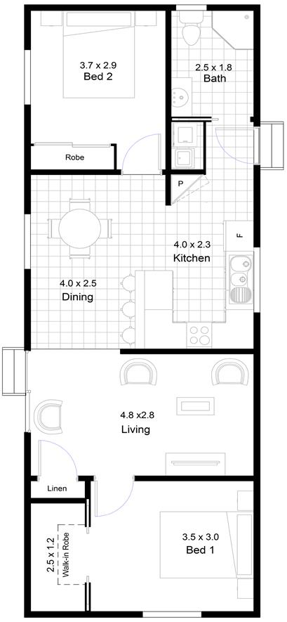 Penna Floor Plan