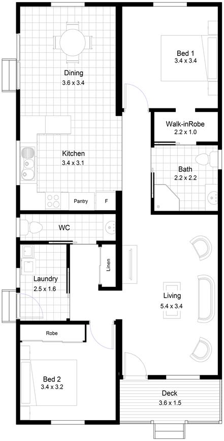 Tamar Floor Plan